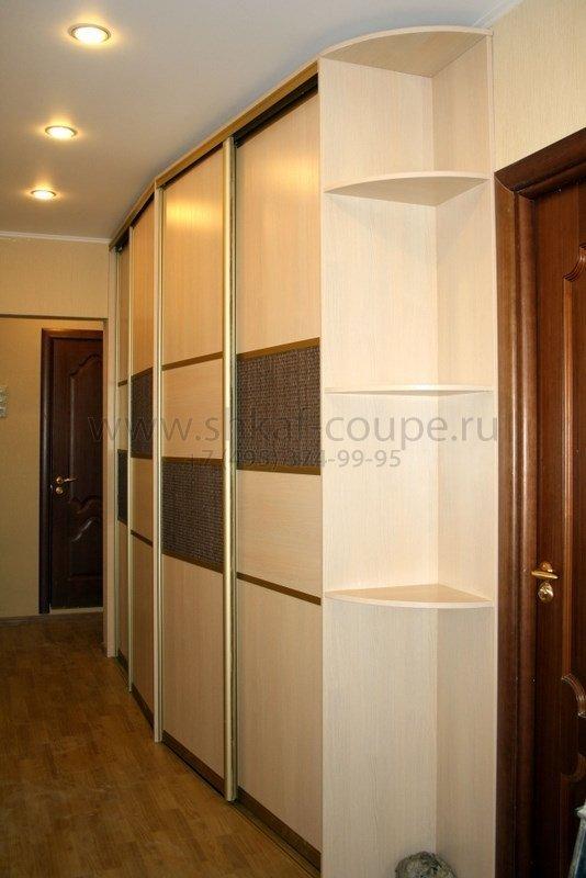 Шкафы в узкий коридор фото